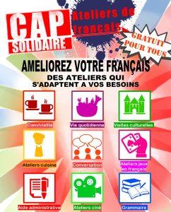 Les ateliers conversations à la française Cap Solidaire