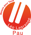 Léo Lagrange Pau Logo
